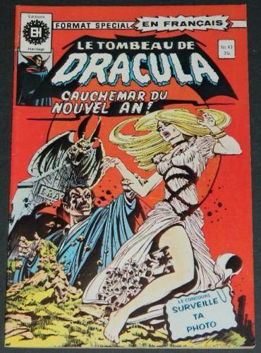 Tomb of Dracula #43Canada Heritage Edition
