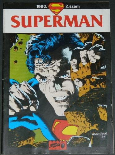 SupermanHungarian comic book1993 cover