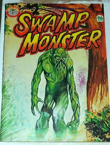 Swamp MonsterAustralia - 1980sSwamp Thing #5-#8