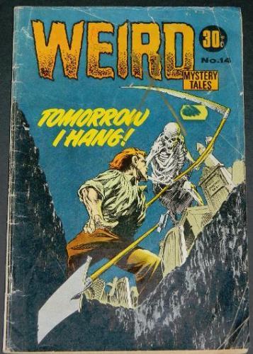 Weird Mystery Tales #14Australia - 1972H.O.M #209