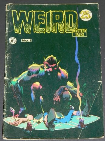 Weird Mystery Tales #1Australia - 1972cover