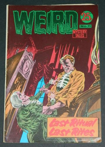 Weird Mystery Tales #11Australia - 1972H.O.M #207