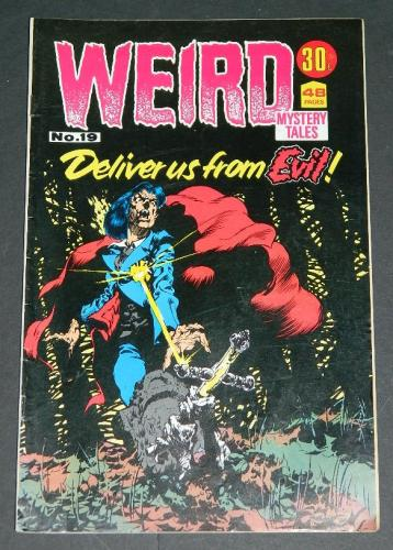 Weird Mystery Tales #19Australia - 1972H.O.M #211