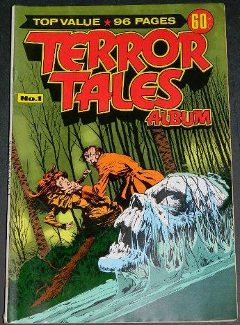 Terror Tales Album #1Australia - 3/77cover