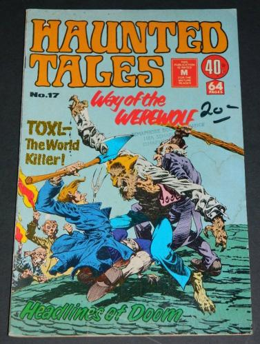 Haunted Tales #17Australia - 1/76cover