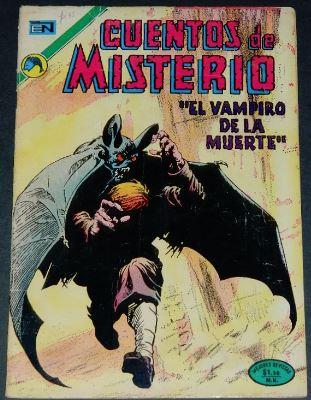 Cuentos de Misterio #239Mexico - 2/73H.O.M. #195