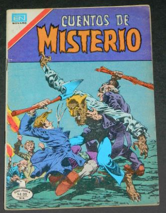 Cuentos de Misterio #287Mexico - 1979H.O.M. #231