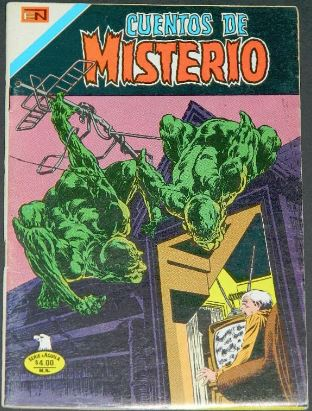 Cuentos de Misterio #2-261Mexico - 12/77H.O.M. #213