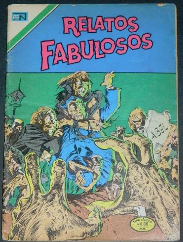 Relatos Fabulosos #2-165Mexico 1977H.O.S. #107