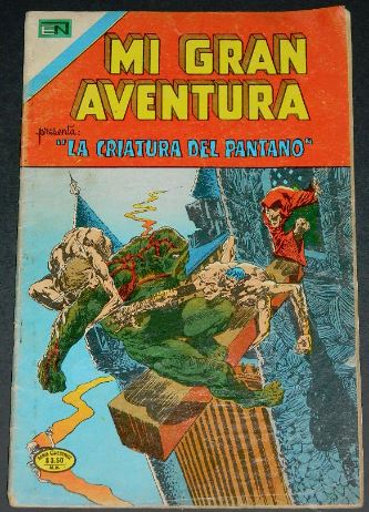 Mi Gran Aventura #002Mexico - 1975Swamp Thing #2
