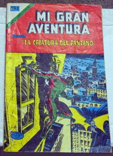 Mi Gran Aventura #007Mexico - 1976Swamp Thing #7