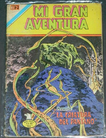 Mi Gran Aventura #2-152Mexico - 1976Swamp Thing #8