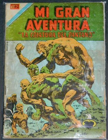 Mi Gran Aventura #2-154Mexico - 1976Swamp Thing #10