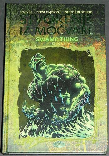 Serbian Roots of the Swamp Thing Hard cover - felt moss