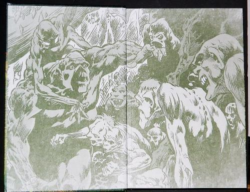 Serbian Roots of the Swamp Thing Inside cover