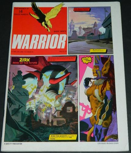 Warrior Vol.3 #3UK - Feb. 19851 illustration & ad