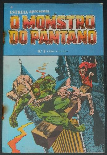O Monstro Do Pantano No 2Brazil - 1979 EBAL