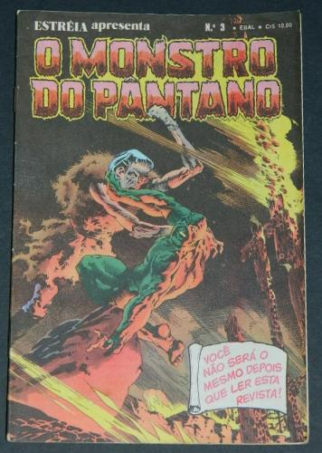 O Monstro Do Pantano No 3Brazil - 1979 EBAL