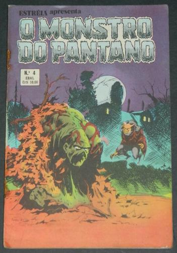 O Monstro Do Pantano No 4Brazil - 1979 EBAL