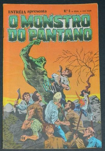 O Monstro Do Pantano No 5Brazil - 1980 EBAL