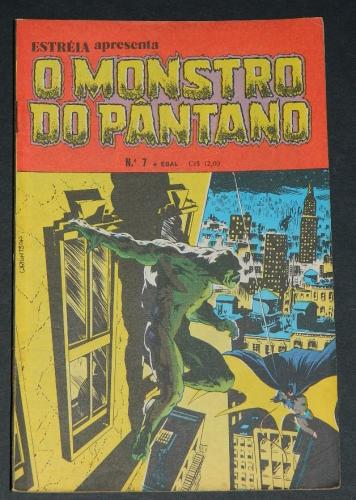 O Monstro Do Pantano No 7Brazil - 1980 EBAL