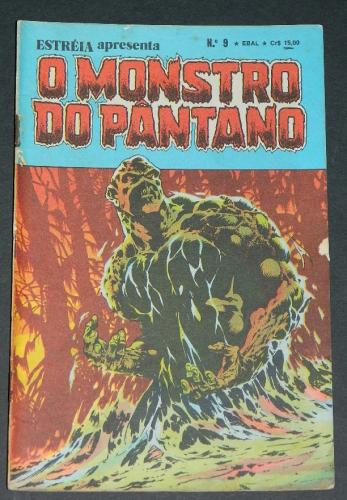 O Monstro Do Pantano No 9Brazil - 1980 EBAL