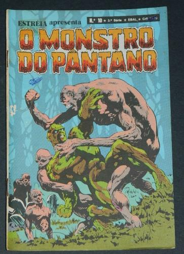 O Monstro Do Pantano No 10Brazil - 1980 EBAL