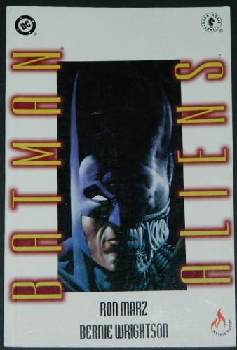 Batman AliensBrazil Graphic NovelHardcover
