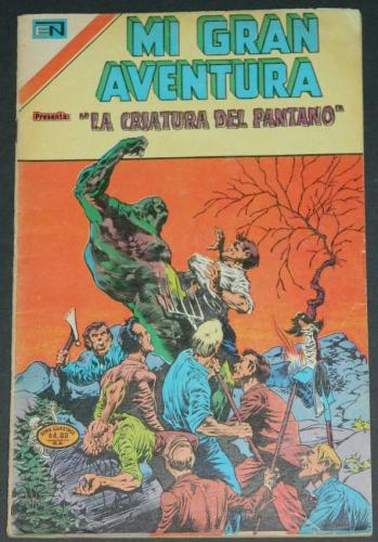 Mi Gran Aventura #005Mexico - 1975Swamp Thing #5