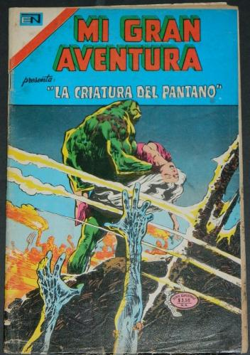Mi Gran Aventura #003Mexico - 1975Swamp Thing #3