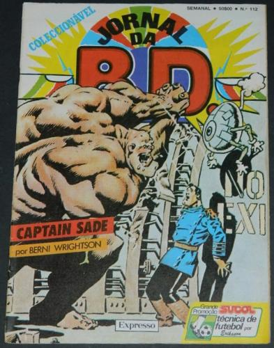 Jornal DA BD #1121984 - Portugal magazine sizeCover and Captain Sterrn pt#2 from Heavy Metal
