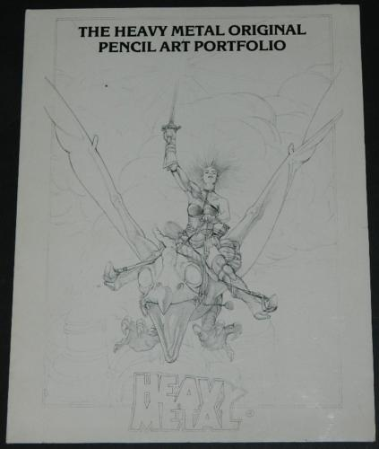 Heavy Metal Movie Pencil Portfolio 130/1000