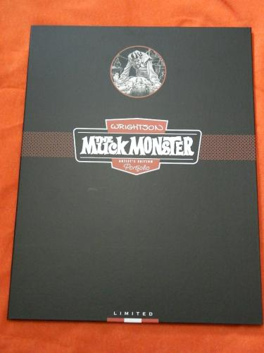 Muck MonsterIDW Artist EditionHard cover portfolio