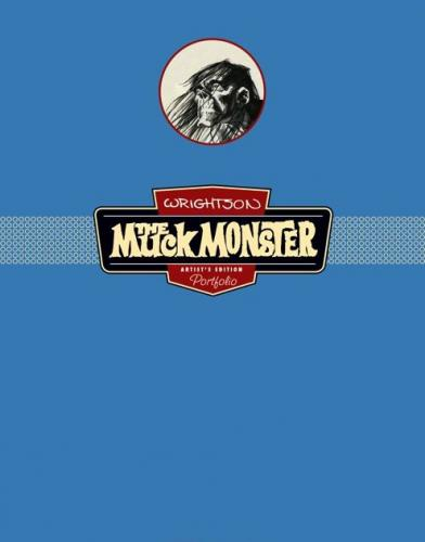 Muck MonsterIDW soft cover portfolio