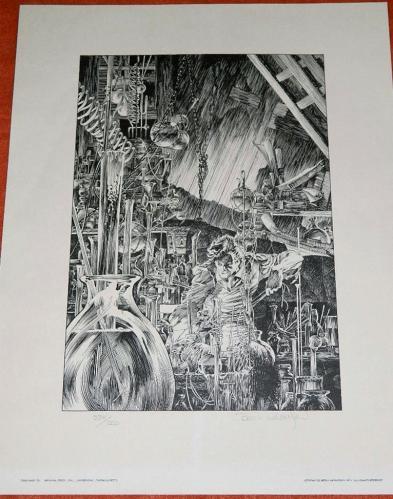 Portfolio of FantasyWrightson plate