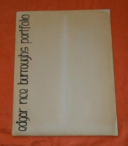Edgar Rice Burroughs portfolio#192/5001 Wrightson plate