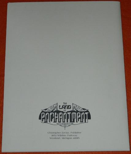Cycle of the WerewolfLand of EnchantmentBack cover