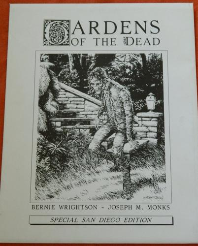 Gardens of the Dead5 prints #295/500story on back