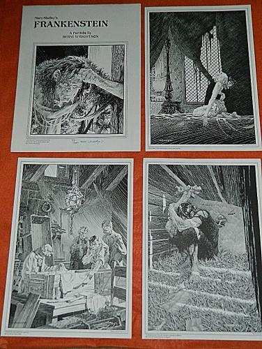 Frankenstein 1978Tyrannosaurus Press#55/20006 prints