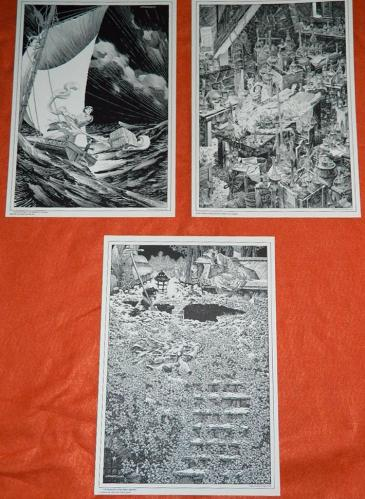 Frankenstein 1978Tyrannosaurus Press6 prints