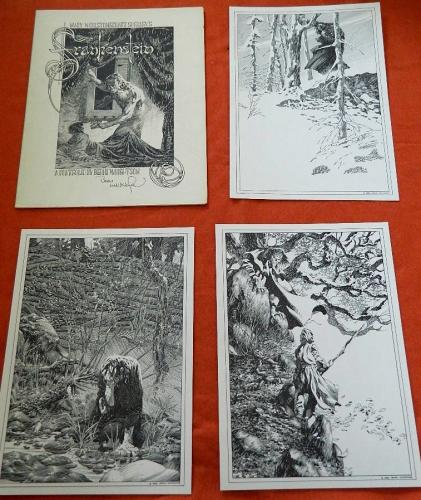 Frankenstein 1980Les Editions Du Triton#1060/20006 prints