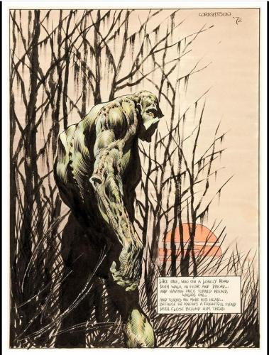 "Swamp Thing ad poster18""x24"""