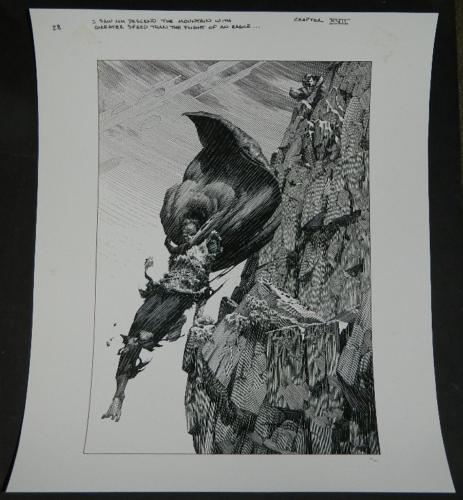 Flight of an Eagle - Artist EditionPrint - Nakatomi#25/300