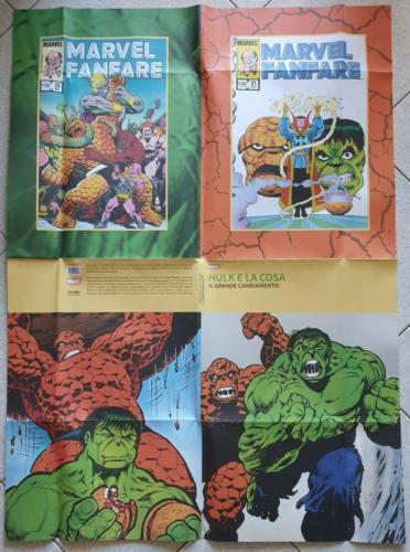 Hulk & Thing posterback