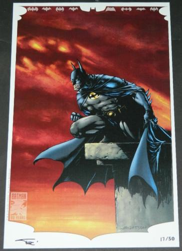 "SDCC 2019Detective Comics #100011""x17"" print #17 of 50"