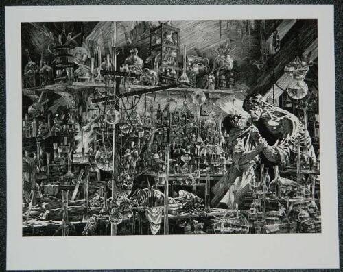 8x10 Embossed Giclee printNakatomi puzzle kickstarter