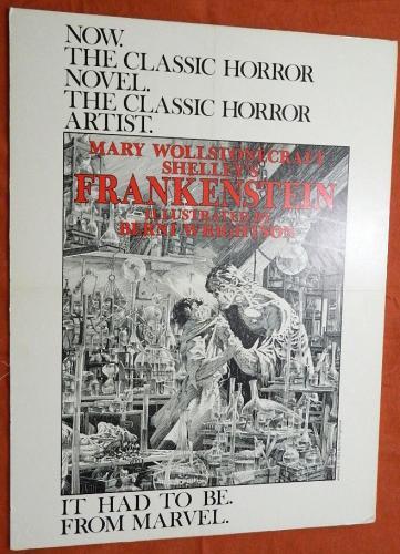 Marvel FrankensteinPromo Poster