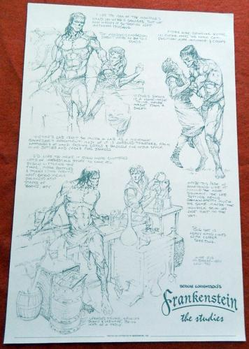 Frankenstein the Studies1996 - SideShow