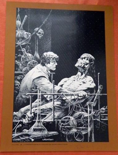 Frankenstein printSigned #60/400