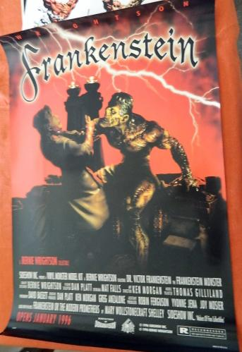 Frankenstein Model poster - Movie style